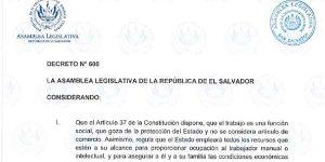 Ley Para el Fomento y Regulación del Teletrabajo