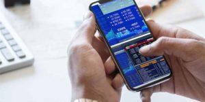 app para operaciones del mercado bursátil